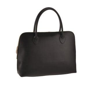 Černá kožená kabelka Ore Diece Manfredi