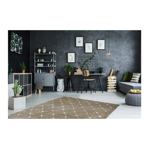 Hnědý koberec Obsession My Manhatten Sand, 80 x 250 cm