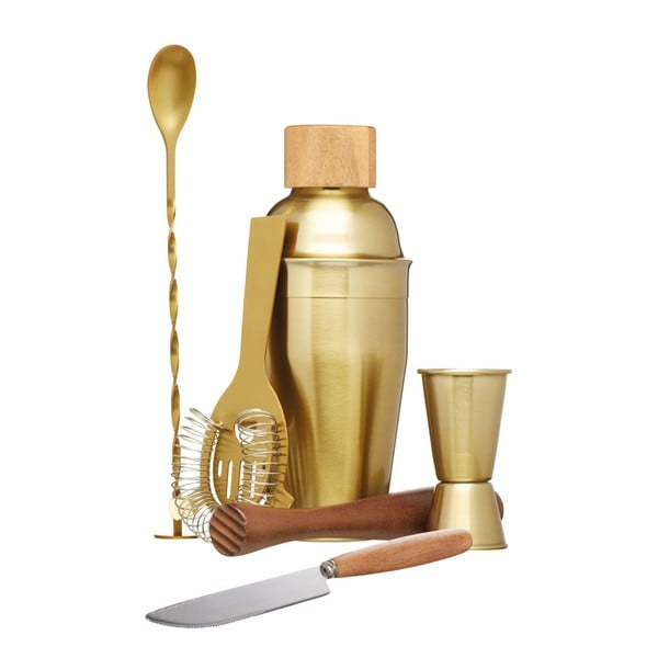 6-dielny koktailový set Kitchen Craft Bar Craft, 450 ml