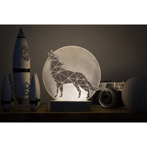 Náladové světlo Wolf Full Moon