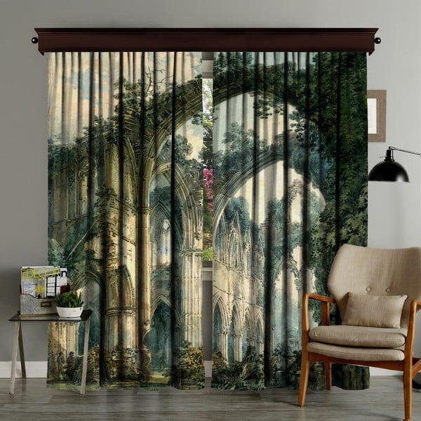 Zestaw 2 zasłon Curtain Runna, 140x260 cm