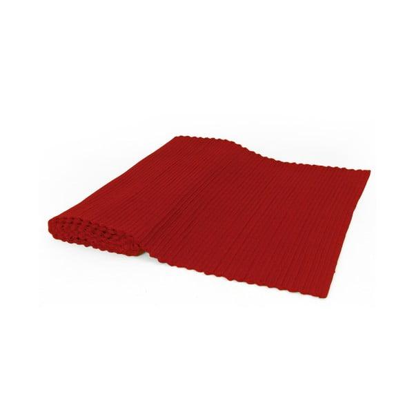 Běhoun na stůl Rib Red