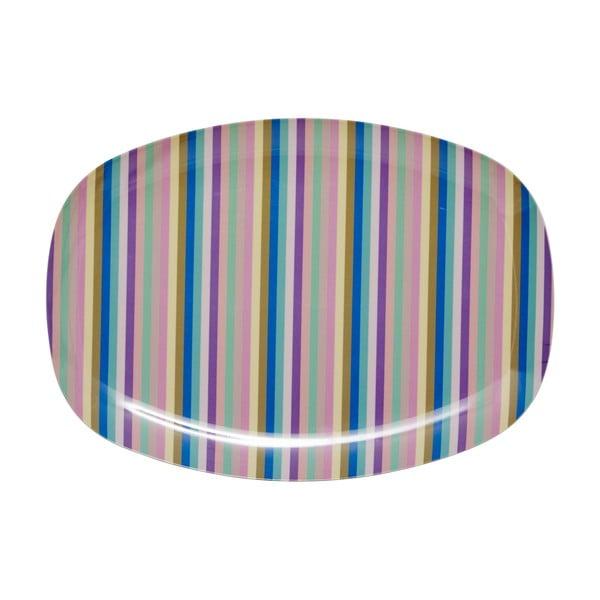 Servírovací talíř Stripe Print