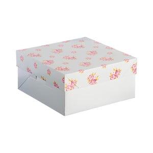 Papírová květinová krabice Mason Cash Cake, 25 x 25 cm