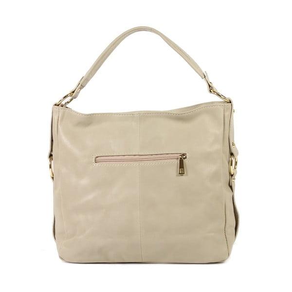 Kožená kabelka Linda, světlá