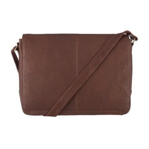 Kožená taška Croft Claret