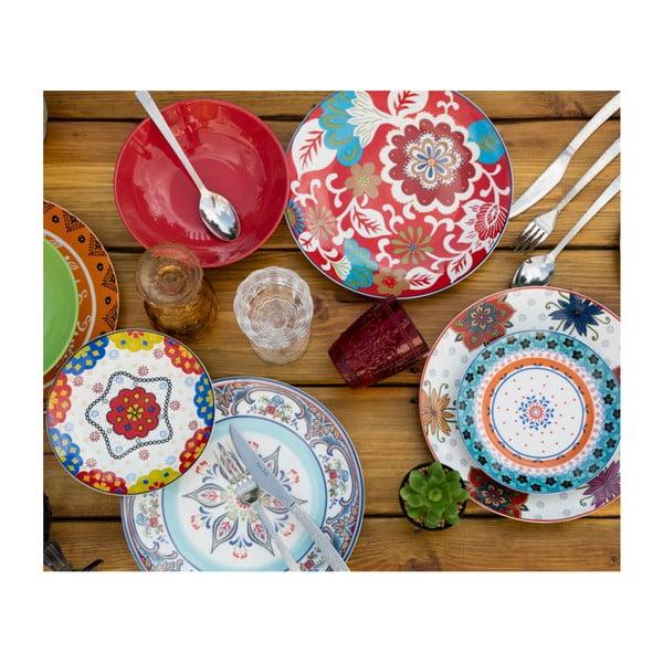 18dílná sada porcelánového nádobí Villa d'Este Folie