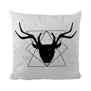Polštář Black Shake Geometric Deer, 50x50 cm