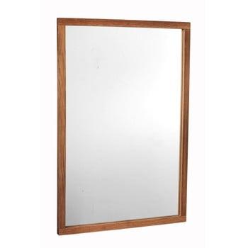 Oglindă cu ramă din lemn de stejar Rowico Lodur de la Rowico