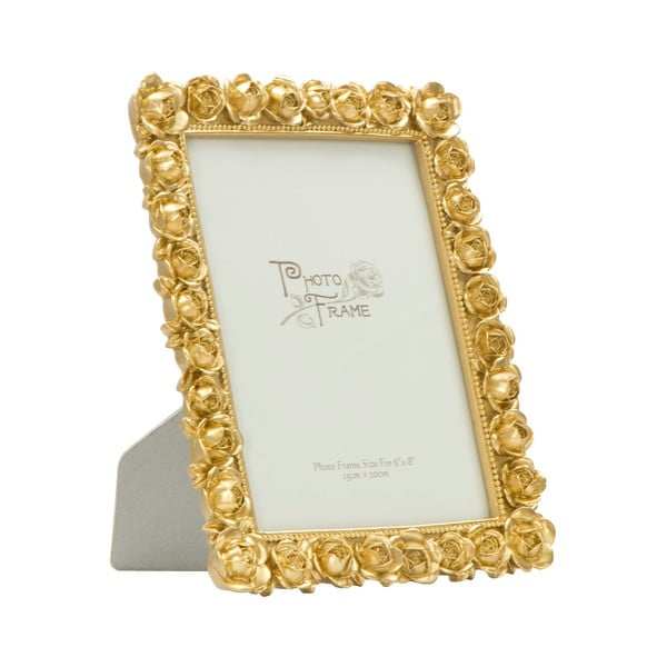 Ramă foto Mauro Ferretti Rose, 15 x 20 cm, auriu