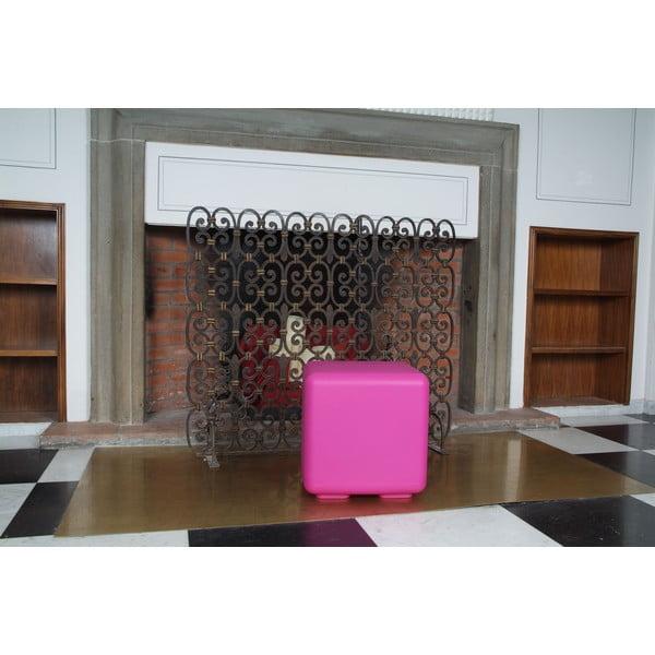 Venkovní stolek Cubo, fialový