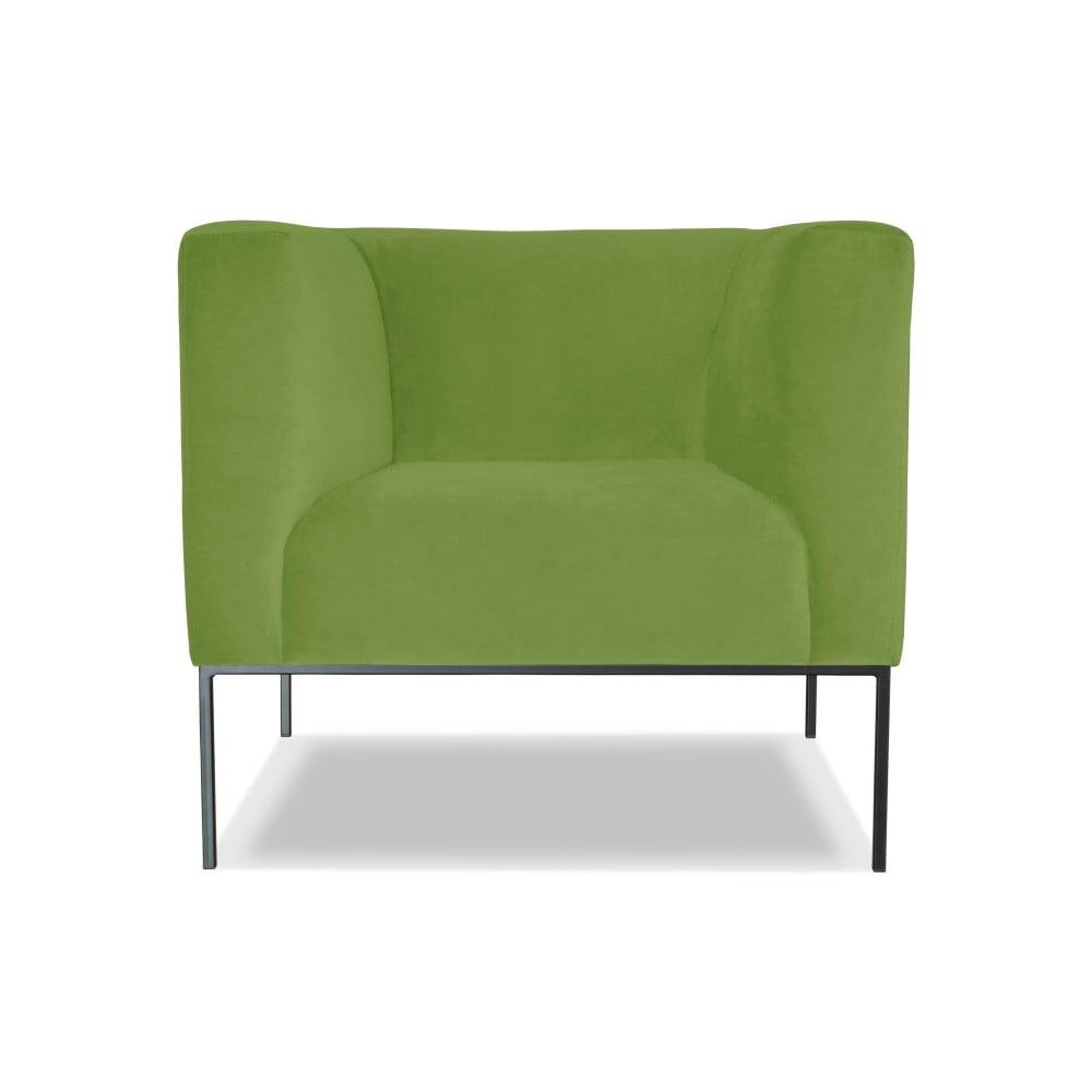 Zelené křeslo Windsor & Co. Sofas Neptune