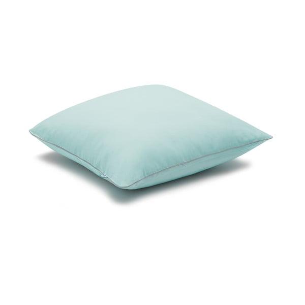 Față de pernă Mumla Basic, 40 x 40 cm, albastru mentol