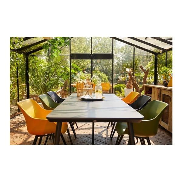 Sada 2 černých zahradních židlí Hartman Sophie Organic Studio Chair