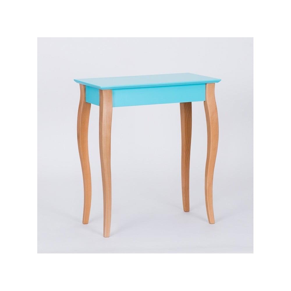 Tmavě tyrkysový odkládací stolek Ragaba Console, délka 65 cm