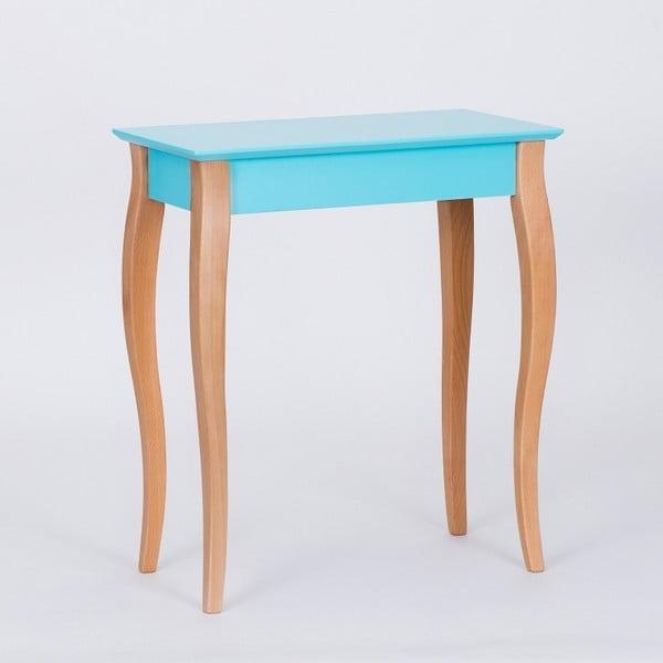 Tmavě tyrkysový odkládací stolek Ragaba Console,délka65cm