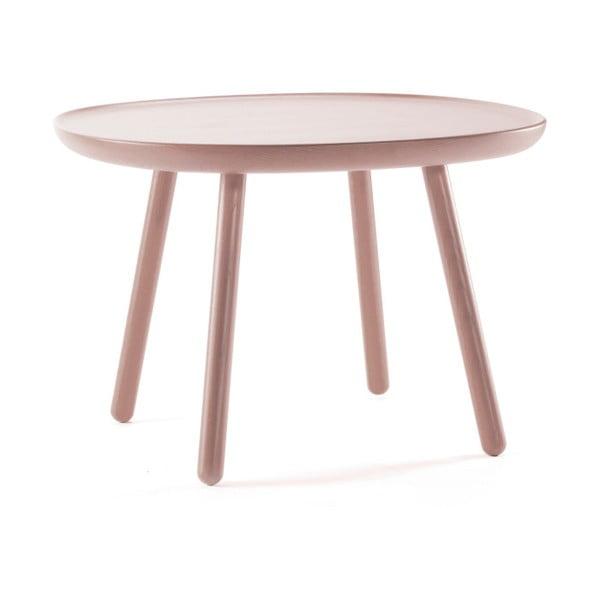 Drevený odkladací stolík EMKO Naive, ⌀ 64 cm
