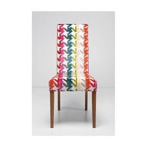 Polstrovaná jídelní židle Kare Design Econo Slim Game