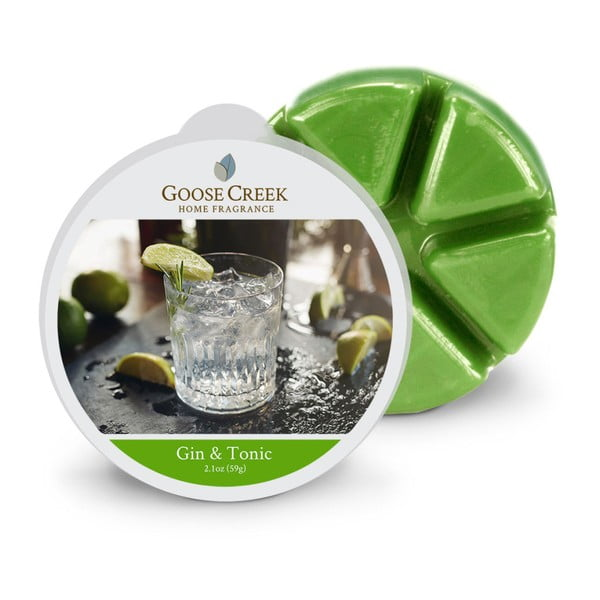 Ceară aromată pentru lămpi aromaterapie Goose Creek, gin și tonic