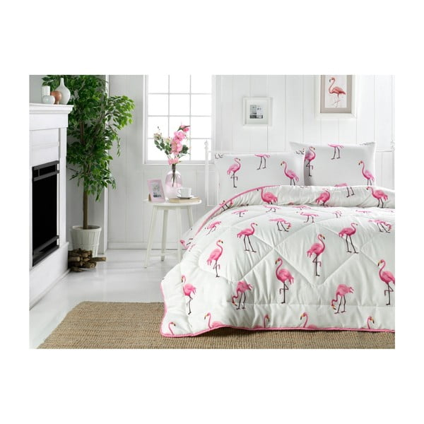 Mailyn kétszemélyes szteppelt ágytakaró, 195 x 215 cm