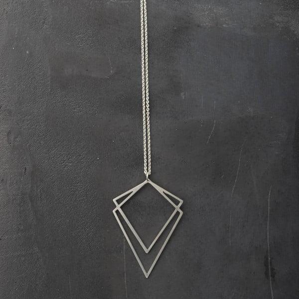 Náhrdelník Solid Silver z kolekce Geometry