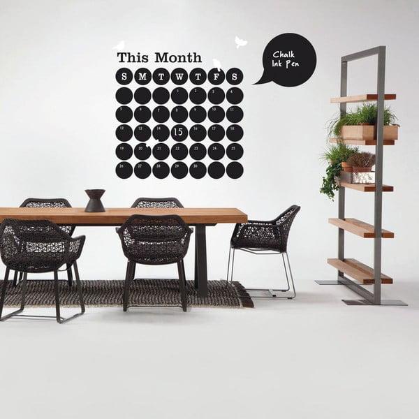 Dekorativní samolepka Calendar, 120x120 cm