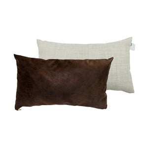 Sada 2 polštářů s výplní Karup Deco Cushion Mocca/Light Grey,45 x 25 cm