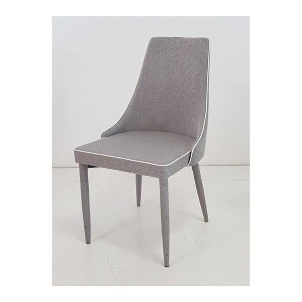 Šedá  jídelní židle Castagnetti Ine