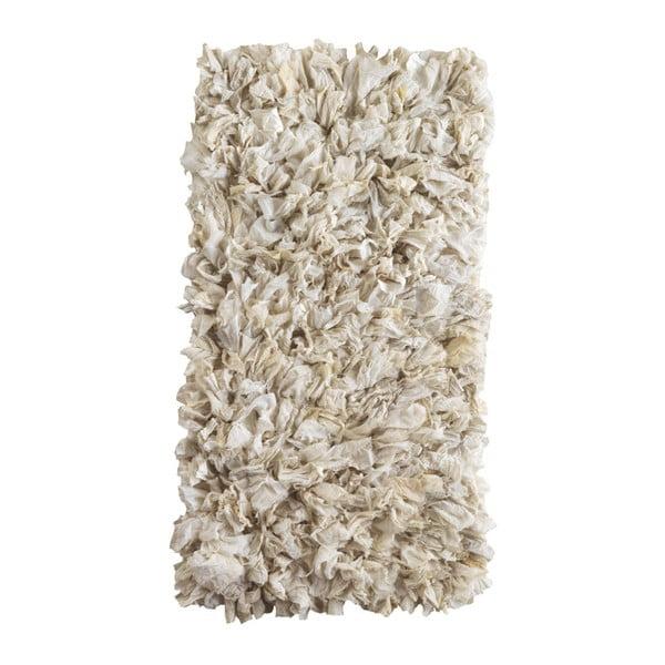 Fluffy krémszínű szőnyeg, 120 x 60 cm - Geese