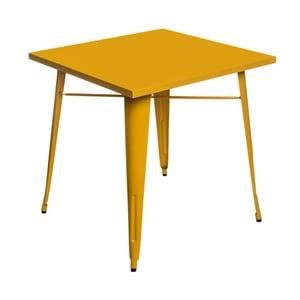 Žlutý jídelní stůl D2 Paris