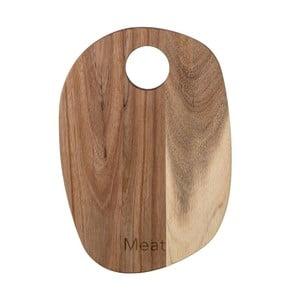 Krájecí prkénko z akáciového dřeva Bloomingville, 30 x 21 cm