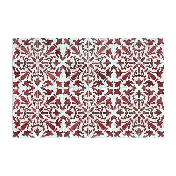 Vinylový koberec Carmen Rojo, 65x100 cm