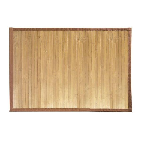 Bambusová koupelnová předložka iDesign Formbu Mat SM