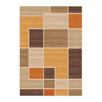 Covor Universal Nilo, 57 x 110 cm, portocaliu - bej
