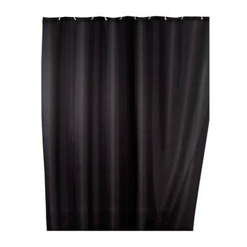Perdea duș cu înveliș special anti cute Wenko, 180x200cm, negru de la Wenko