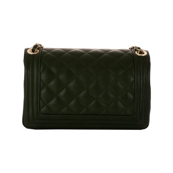 Zelená kožená kabelka Andrea Cardone 2024