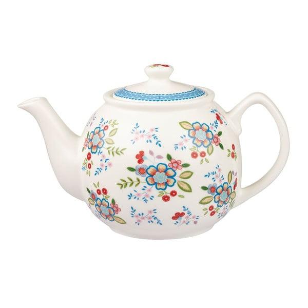 Sada čajové konvice a 2 hrnků Churchill China Caravan Hippie Floral