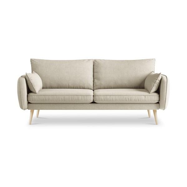 Beżowa sofa Kooko Home Lento, 198 cm