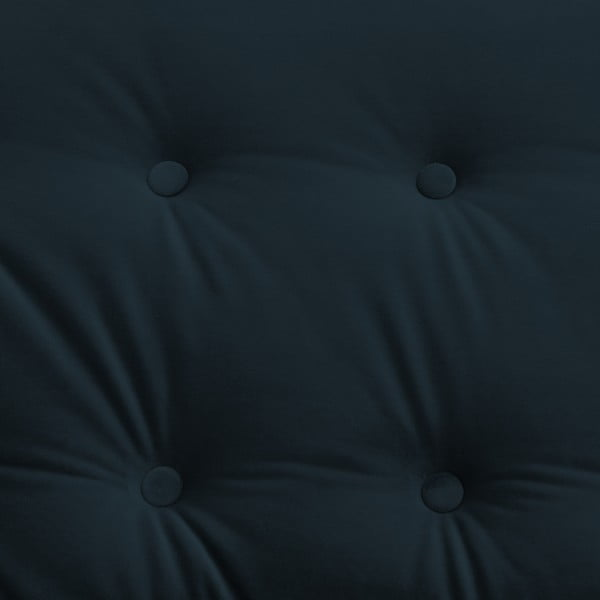 Canapea 3 locuri Vivonita Laurel, albastru închis