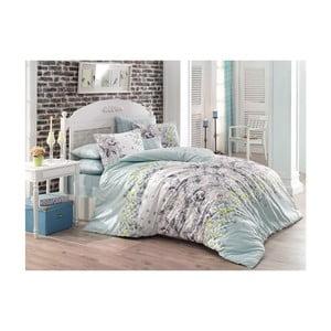 Lenjerie de pat cu cearșaf Mona, 200 x 220 cm