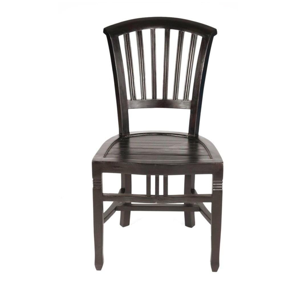 Židle z mahagonu SOB Poirot
