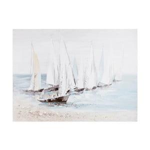 Tablou Ixia Sailing Boat, 90 x 120 cm