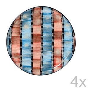 Set talířů Samburu, 21,5 cm (4 ks)