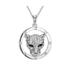 Náhrdelník s krystaly Swarovski Elements Crystals Panthers
