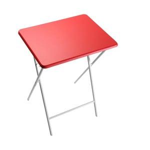 Červená skládací stolička Versa Crual