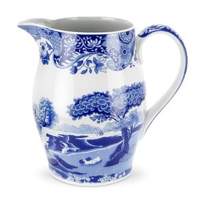 Bílomodrý porcelánový džbánek Spode Blue Italian, 1,75 l