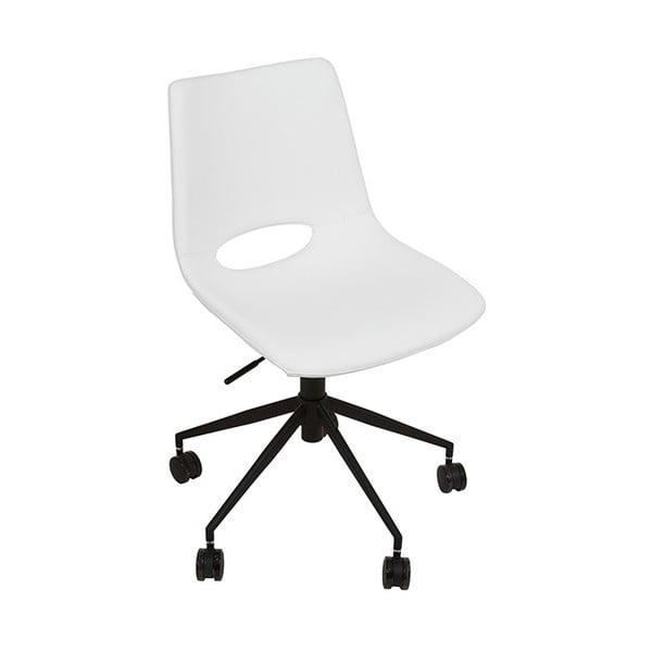 Białe krzesło biurowe Santiago Pons Avedis