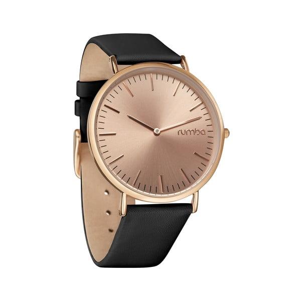 Dámské hodinky SoHo Leather Rose Gold Black