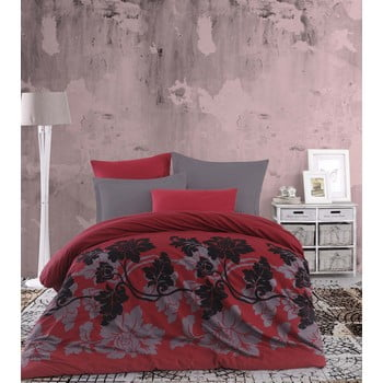 Lenjerie de pat cu cearșaf Dahlia, 200 x 220 cm de la Eponj Home