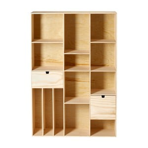 Dřevěná knihovna De Pino